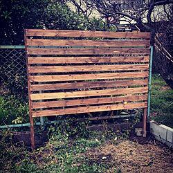 ガーデン/DIY/フェンス/にわのインテリア実例 - 2014-03-29 23:22:31