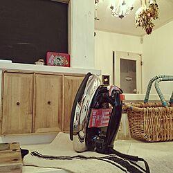 棚/楽天で買ったもの/つくえDIY/木箱の飾り棚/かご...などのインテリア実例 - 2016-11-27 08:36:15