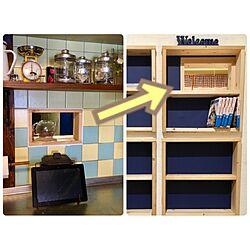 壁/天井/本棚DIY/キッチンの壁/壁に穴/小窓...などのインテリア実例 - 2016-11-24 16:41:17