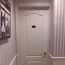 ドアプレート/海外インテリアが大好き/ホテルスタイル/リゾートっぽくしたい/ホテル風のお部屋...などのインテリア実例 - 2020-06-02 21:27:04