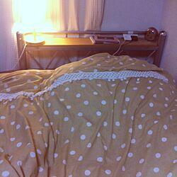 ベッド周り/赤い机のインテリア実例 - 2012-09-09 01:40:15