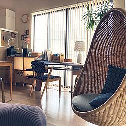 テーブルランプ/minaperhonen/椅子/照明/フロアライト...などのインテリア実例 - 2021-06-08 11:26:33