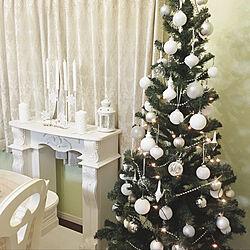 部屋全体/クリスマスツリー/IKEA/海外インテリアに憧れる/クリスマスディスプレイ...などのインテリア実例 - 2017-11-09 09:46:39