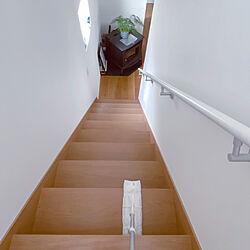 階段/クイックルストロング/ウィルス対策/掃除しやすい家/除菌...などのインテリア実例 - 2020-07-02 22:39:29