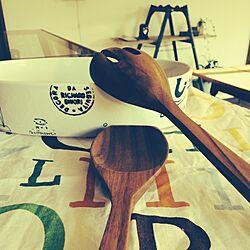 リチャードジノリ/アクタス/サラダサーバー/鉛筆削りオブジェの会のインテリア実例 - 2015-01-16 08:09:05