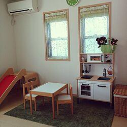 部屋全体/こどもと暮らす。/子供部屋/IKEA/natural kitchen...などのインテリア実例 - 2015-10-30 10:49:51