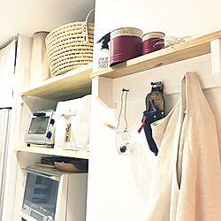 キッチン/無印良品/Can☆Do/ピータッチのある暮らし/ピータッチキューブ...などのインテリア実例 - 2017-06-07 18:21:56