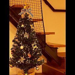 部屋全体/オーナメント/ファイバーツリー/クリスマスツリー/クリスマス...などのインテリア実例 - 2016-11-04 17:43:10