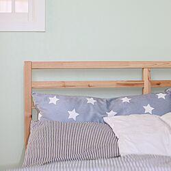 ベッド周り/枕/ベッド/IKEAのインテリア実例 - 2016-03-29 19:16:09