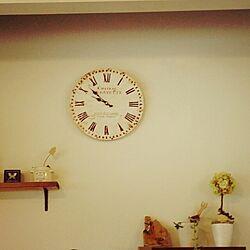 アンティーク時計のインテリア実例 - 2013-10-29 09:54:47