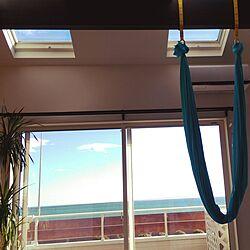 エアリアルヨガ/BEACH STYLE/海を感じるインテリア/海の見える家/海の近くの家...などのインテリア実例 - 2017-02-10 22:50:53