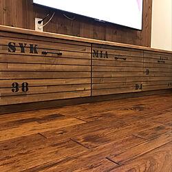 棚/DIY/テレビ壁掛け/テレビボードDIY/テレビ周り...などのインテリア実例 - 2018-12-14 12:01:10