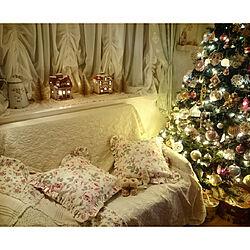 リビング/クリスマスツリー/クリスマスが大好きです/物語のある暮らし/物語に憧れる...などのインテリア実例 - 2019-10-10 21:37:28