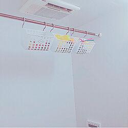 バス/トイレ/お風呂グッズ/お風呂/整理/Daiso...などのインテリア実例 - 2018-06-09 18:56:29