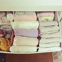ベッド周り/おかたづけ育/子供服収納/IKEA/子どもと暮らすのインテリア実例 - 2018-04-06 22:10:04
