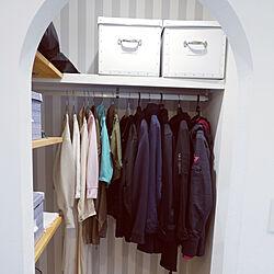玄関/入り口/造作/IKEA/ナチュラル/アール壁...などのインテリア実例 - 2020-09-17 09:00:52
