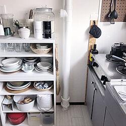リンナイガスコンロ/IKEA/コーヒーのある暮らし/BESTÅ/食器棚...などのインテリア実例 - 2020-03-02 21:32:12