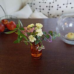 机/庭に咲く小さな花たち/キャンドル/ワイヤーかご/りんご...などのインテリア実例 - 2020-10-30 12:11:48