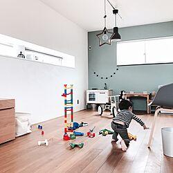 部屋全体/DIY/IKEA/キッズルーム/アメリカンスイッチ...などのインテリア実例 - 2017-04-27 12:24:44