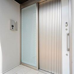 引き戸玄関/人感センサー照明/電気錠/スライディングドア/建築プランナー...などのインテリア実例 - 2020-03-10 00:41:23