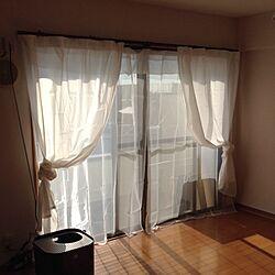 ベッド周り/IKEA カーテンのインテリア実例 - 2013-12-31 12:53:41