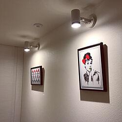 壁/天井/廊下/一人暮らし/玄関/照明のインテリア実例 - 2017-08-03 02:13:55