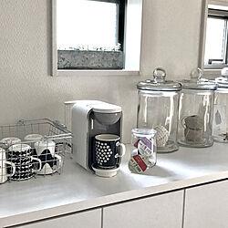 marimekkoマグ/DRIP POD/コーヒーメーカー/おうちカフェ/シンプルインテリア...などのインテリア実例 - 2019-05-24 07:55:44