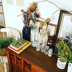 棚/dryflower/ブルニア/リューカデンドロン/vintagebook...などのインテリア実例 - 2017-11-30 13:15:08