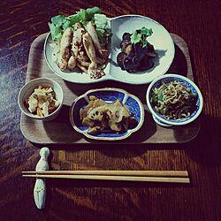 古道具/陶器/豆鉢/小皿/豆皿...などのインテリア実例 - 2015-09-30 19:07:54