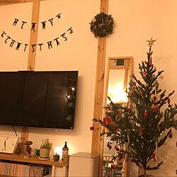 リビング/iittala kivi/Iittala/クリスマスツリー/クリスマス...などのインテリア実例 - 2017-12-24 23:39:53