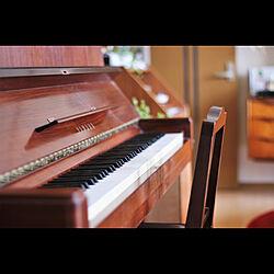 ピアノ/アップライトピアノ/楽器のある生活/断熱板/床暖房...などのインテリア実例 - 2019-05-27 12:09:21
