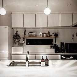 キッチン/ZARA HOME/背面収納/ホワイトインテリア/モノトーン...などのインテリア実例 - 2020-05-23 06:36:53