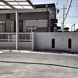 駐車場/庭/カーポートのインテリア実例 - 2013-03-11 13:35:37