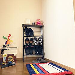 ニトリ/無印良品/玄関/入り口のインテリア実例 - 2021-04-05 13:50:27