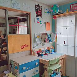 壁/天井/ラブリコ/子供部屋/DIY/パーテーション...などのインテリア実例 - 2019-11-25 21:19:51