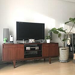 部屋全体/TOKYO RECYCLE/unico TVボードのインテリア実例 - 2018-11-05 07:27:37