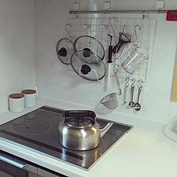 キッチン/無印良品/無印良品のやかんのインテリア実例 - 2018-02-03 14:24:26