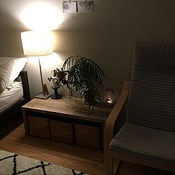 ベッド周り/無印良品/IKEA/暮らしの一コマ/エバーフレッシュのインテリア実例 - 2018-07-28 23:01:32