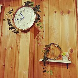 リビング/飾り棚/ナチュラル/100均アイテム/手作りのインテリア実例 - 2018-11-25 22:51:53
