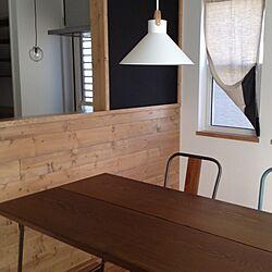 キッチン/黒板/ボタンカーテン/カフェ風/男前...などのインテリア実例 - 2014-02-20 19:15:02