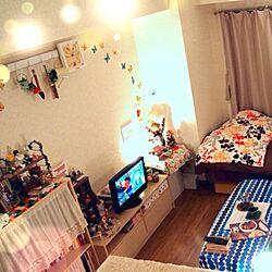 壁/天井/IKEA/一人暮らし/雑貨のインテリア実例 - 2014-01-07 23:52:49