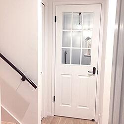 ドア/お気に入り/シンプル/ホワイトインテリア/塗り壁...などのインテリア実例 - 2019-05-26 19:43:46