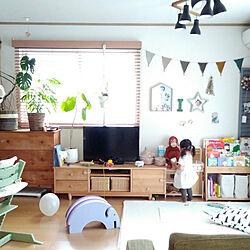 部屋全体/赤ちゃんのいる暮らし/子どもと暮らす/赤ちゃんと暮らす/ピエニコティ...などのインテリア実例 - 2019-05-12 06:46:17