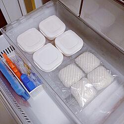 キッチン/マーナ/冷凍ごはん/マーナ極冷凍ごはん容器/冷凍ごはん容器...などのインテリア実例 - 2021-09-14 23:22:52