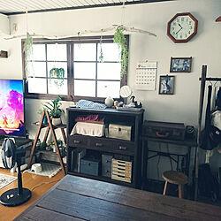 リビング/棚DIY/DIY/いつもいいねありがとうございます♡/こどもと暮らす。...などのインテリア実例 - 2021-09-25 10:46:43