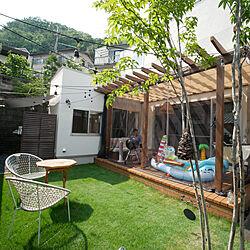 壁/天井/グランピング/庭を眺める家/庭を楽しむ/プール...などのインテリア実例 - 2019-08-03 15:20:50