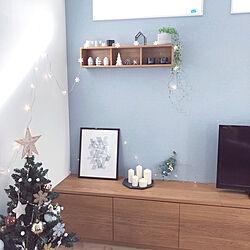 棚/クリスマス/こどもと暮らす。/IKEA/無印良品 壁に付けられる家具...などのインテリア実例 - 2018-11-30 20:44:38