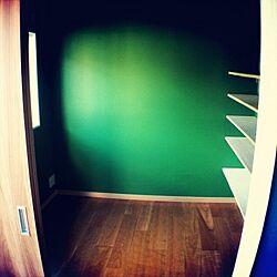 部屋全体/カラフルな壁/新居/緑のインテリア実例 - 2012-08-24 21:01:06