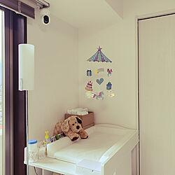 IKEA/赤ちゃんスペース/オムツ/オムツ交換台/部屋全体のインテリア実例 - 2020-06-21 08:27:56