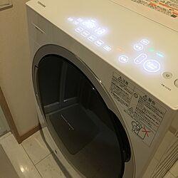 バス/トイレ/ドラム式洗濯機/東芝のインテリア実例 - 2016-07-30 22:14:18
